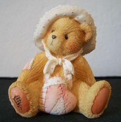 Cherished Teddies 1993 Enesco Phoebe February Month Bears #914762