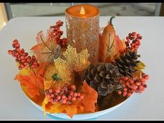 Autumn Crafts, Fall Crafts For Kids, Thanksgiving Centerpieces, Fall Table Centerpieces, Thanksgiving Table, Table Decorations, Natural Fall Decor, Outside Fall Decorations, Fall Flower Arrangements