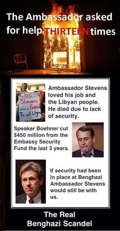 Republican Boehner playing politics cost people their lives this time. When will the corrupt go to jail?