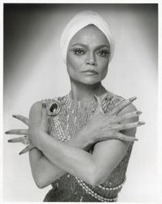 """""""Kenn Duncan. Eartha Kitt, ca. 1960-1986. NYPL, Library for the Performing Arts / Billy Rose Theatre Division."""" Repinned from @New York Public Library."""
