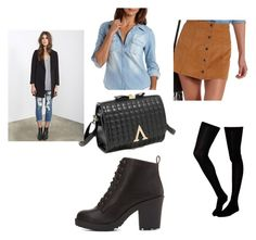 """""""Fall attire"""" by skylartrixia ❤ liked on Polyvore featuring Charlotte Russe, ASOS and Forever 21"""