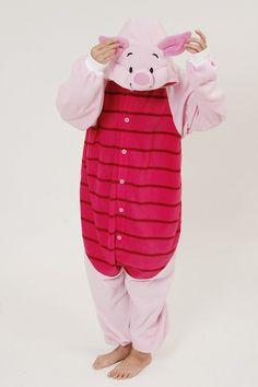 Animal Costume Piglet Adult Onesie Kigurumi Pajamas b0b3b35e55247