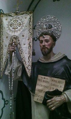 Catholic Saints, Roman Catholic, Saint Dominic, Religious Images, Hail Mary, Cathedral, Faith, Statue, Icons