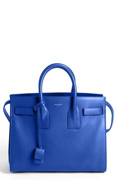 Saint Laurent 'Sac de Jour - Small' Leather Tote available at #Nordstrom  Love this color!