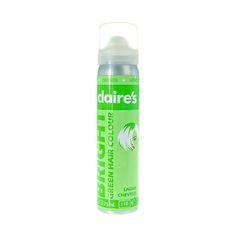 Bright Green Hair Colour Spray
