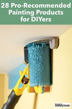 28 Pro-Recommended Painting Products for DIYers - 28 Pro-Recommended Painting Products for DIYers You are in the right place about Home diy kitchen H - Edge Painting Tool, Painting Walls Tips, Painting Tools, Diy Painting, Painting A Bedroom, Painting Tricks, Paint Edger, Handyman Projects, Diy Home Repair