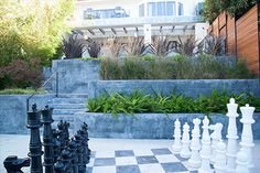 Play in High Style - Shades of Green Landscape Architecture