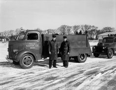 Town Of Madison Fire Trucks | Photograph | Wisconsin Historical Society
