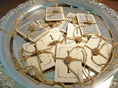 Vintage Flinch Playing Cards Wedding Table by RevivedTraditions, $6.00