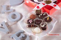 walentynkowe czekoladki, walentynki, czekoladki z sercem, love, słodycze dla zakochanych
