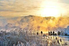 "korean_landscape: """"열정""  참으로 다양한 풍경을 보여주는 곳인데. 올핸 그냥 넘어가네요! 새벽에 고향갑니다! 안전운전하시고 명절 잘 보내세요!  Location : Soyang river. Chuncheon. Korea.  #춘천 #사진 #photooftheday #여행 #여행스타그램 #풍경 #ig_captures #instagood #ig_exquisite #awesome #awesome_shots #ig_excellence #picture #travel #ig_travel #photo #pictureoftheday #ic_landscapes #ic_nature #koreanlandscape #travelgram #ig_nature #ig_korea #nature #photographer #instaphoto #nikon #니콘 #d800 #감성사진"""
