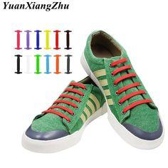 f6deb06d2782 16pcs set Adult Lazy Elastic No Tie Shoelaces Free Tying Silicone Shoelace  Easy Shoe Laces All Sneakers Fit Strap Shoe Lace L13