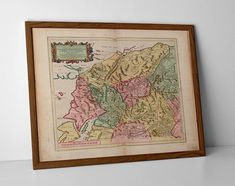 Hisorical Map of Scottish Highlands, originally created by Willem Janszoon Blaeu, now available as a 'museum quality' historic style print.  #Applecross #homedecor #fortwilliam #travelposter #interiordesign #glenelg #hahnemuhle #Inverness #KyleofLochalshmap #lochnessmap #LochNess #Morvern #Mull #oldmap #highlands #mull #scottishhighlands #skye