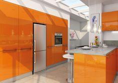 Orange Acrylic Pannel