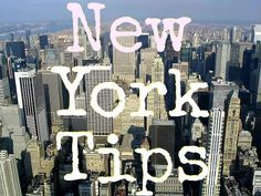 City Guide: Things to do in New York City - USA travel tips!
