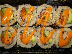sushi - spicy california roll