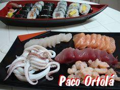 Sashimi. Ver la receta http://www.mis-recetas.org/recetas/show/34154-sashimi