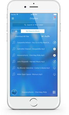 SoundWeaver iPhone Music Player App