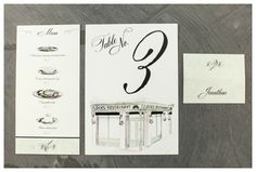A shot of the sophisticated table numbers and menus created for the couples intimate reception. Dublin City, Table Numbers, Elegant Wedding, Reception, Menu, Place Card Holders, Couples, Menu Board Design, Wedding Table Numbers