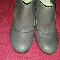 Rockport Booties Never worn Booties. Grayish/Lavender in color. Rockport Shoes Ankle Boots & Booties