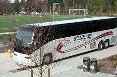 Prevost Coach Bus Thiel College Tour Bus Mass