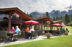 Mountianside Grille #FairmontHotSpringsResort #dining #drinking #golf #clubhouse #mountainside #views
