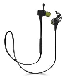 These luxury buds promise to enhance your listening experience. The X2 Wireless Bud is a sweat-proof Bluetooth headphone with 8 hours of battery life to keep up with any fitness regimen. Pictured: X2, $180, JAYBIRD.