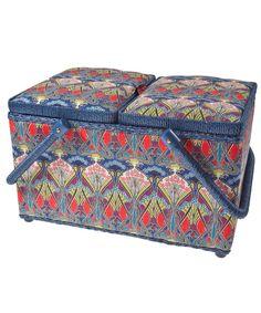 Ianthe Print Sewing Box, Liberty Print