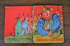 Cardboard clock Square - La Ciudad del Reloj de Cartón