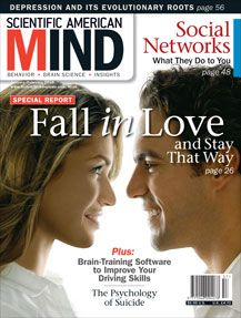 How science can help you fall in love; Fall in Love and Stay That Way  http://drrobertepstein.com/downloads/Epstein-HOW_SCIENCE_CAN_HELP_YOU_FALL_IN_LOVE-Sci_Am_Mind-JanFeb2010.pdf?lbisphpreq=1