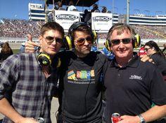 Misha and Jensen running AMOK.