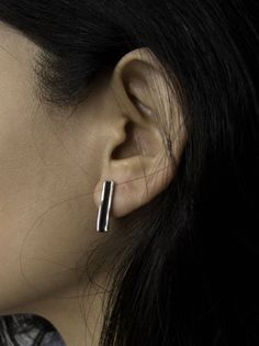 Parallel Folded Earrings | Bless the Theory