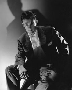 William Holden by George Hurrell.