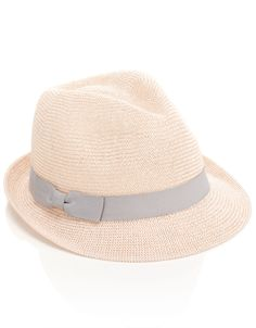 Knitted Paper Packable Trilby | Pink | Accessorize