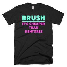 Brush, It's Cheaper