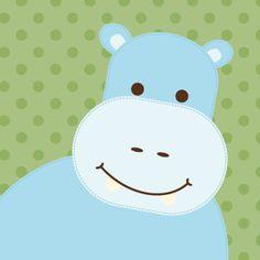 Jungle Friends Hippo