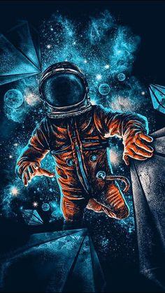 Resultado de imagem para astronauta wallpaper – Best of Wallpapers for Andriod and ios Space Artwork, Dark Artwork, Wallpaper Space, Tumblr Wallpaper, Cartoon Wallpaper, Space Space, Fantasy Artwork, 480x800 Wallpaper, Aesthetic Space