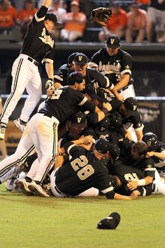 vanderbilt baseball - the most talented (and gorgeous) team in college athletics