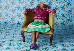 Lovely combination of peppermint stripes and cerise satin bomber in Gucci kidswear for spring 2016