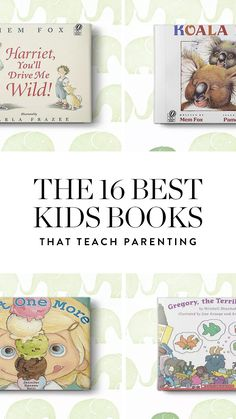 Here's a round-up of kids books that may not tell us what to expect from parenting, but raise our expectations of ourselves.