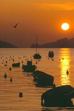 Lerici, Liguria, Italy.  E' per questo che lo chiamano il Golfo dei Poeti! =) www.varaldocosmetica.it