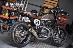 Ducati ScrambleR ModS Cafe Racer Custom                                                                                                                                                     More