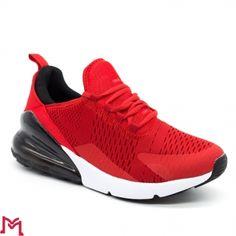 Pantofi Sport Barbati 8019 Red-Black Start Fashion