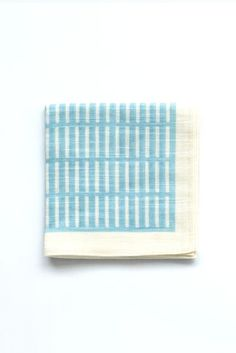 Topdrawer Japanese Handkerchiefs are an everyday essential for comfort, utility, and fashion. Hand-dyed at the Kamawanu factory in Japan, Wafu hankies wed classic Japanese patterns with a bold color palette. Made of lightweight 100% cotton fabric, this classic marker of readiness and refinement comes in handy as a fashion accessory, a towel, and a container.