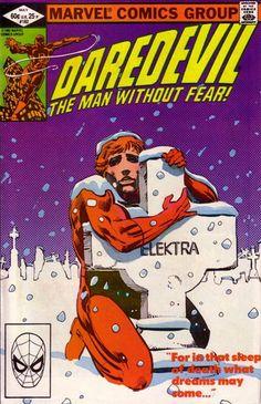 Daredevil #182 Marvel Comics  Auction your comics on http://www.comicbazaar.co.uk
