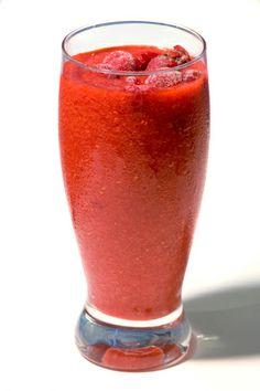 Peachy Raspberry Smoothie