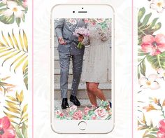 Custom Wedding Snapchat Filter www.geotagfilters.com Geofilter Design, Snapchat Filters, Wedding, Valentines Day Weddings, Weddings, Marriage, Chartreuse Wedding