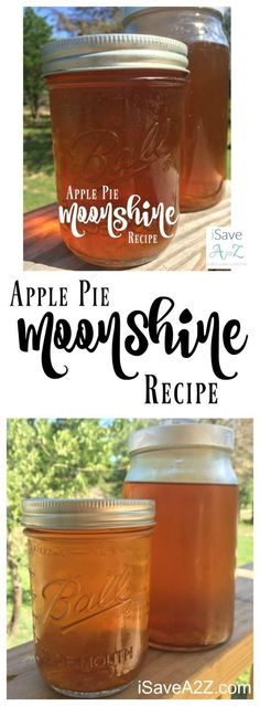 Pie Moonshine I know exactly why this recipe is so popular now! Apple Pie Moonshine Recipe - I know exactly why this recipe is so popular now! Summer Drinks, Cocktail Drinks, Fun Drinks, Cocktail Recipes, Alcoholic Drinks, Beverages, Cocktail Desserts, Bourbon Drinks, Fall Cocktails