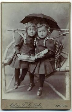 """Today a reader, tomorrow a leader."" – Margaret Fuller.Sisters reading, 19th century.  Josef Novak"