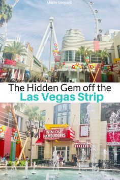 Take a stroll off the Las Vegas strip A guide to : Fun things to do on the Linq Promenade. Las Vegas Vacation, Las Vegas Hotels, Linq Las Vegas, Shopping In Las Vegas, Las Vegas Travel, Las Vegas Eats, Las Vegas Tours, Las Vegas Food, Las Vegas Attractions